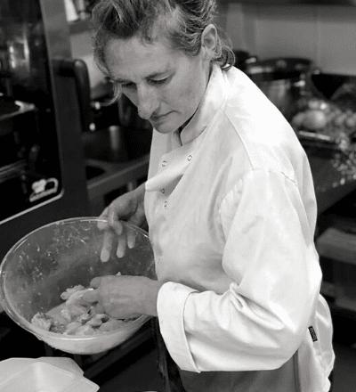 Chef Tracy Rennie